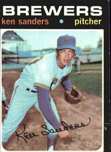 Photo of 1971 Topps #116 Ken Sanders