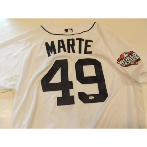 Luis Marte Home 2012 World Series Patch