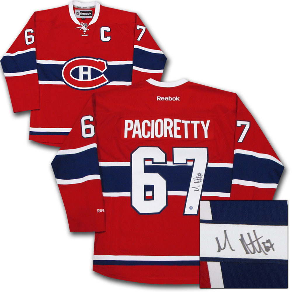 Max Pacioretty Autographed Montreal Canadiens Jersey