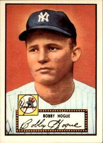 Photo of 1983 Topps 1952 Reprint #9 Robert Hogue
