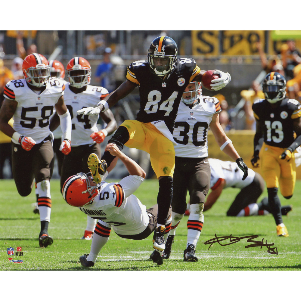 Antonio Brown Pittsburgh Steelers Autographed 8