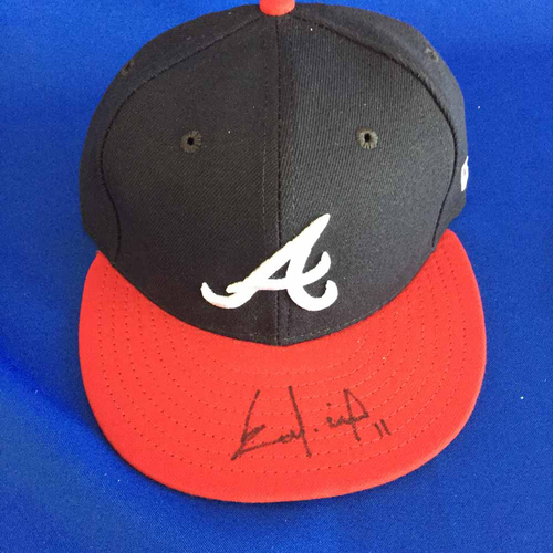 Photo of UMPS CARE AUCTION: Ender Inciarte Signed Cap - Size 7 - Not MLB Authenticated