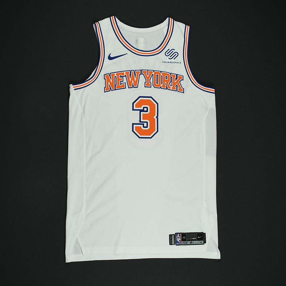 2dc2f7e5e08 Tim Hardaway Jr. - New York Knicks - Game-Worn 'Statement' Jersey ...