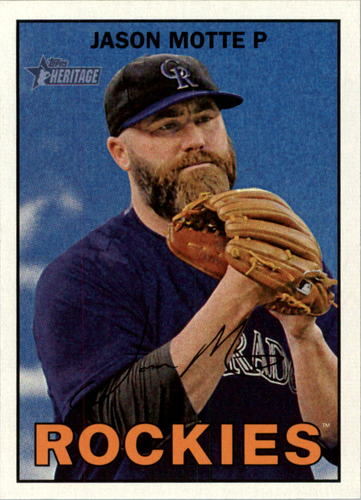 Photo of 2016 Topps Heritage #311 Jason Motte