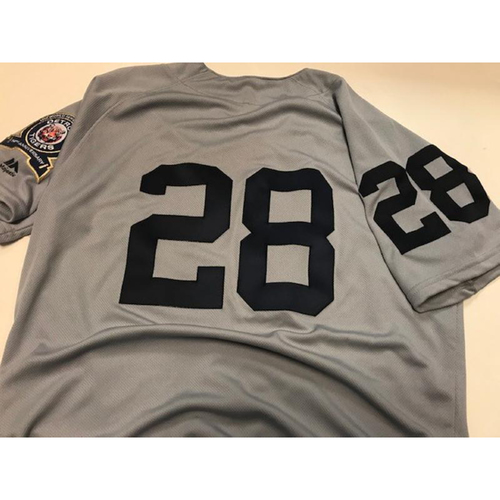 Photo of Game-Used 1968 World Series 50th Anniversary Jersey: Niko Goodrum
