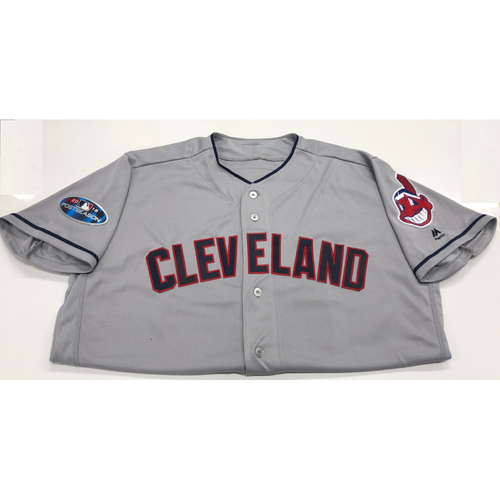 Photo of Michael Brantley 2018 Post Season Road Jersey