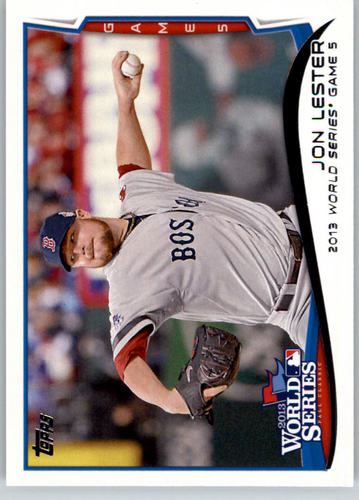 Photo of 2014 Topps #206 Jon Lester WS