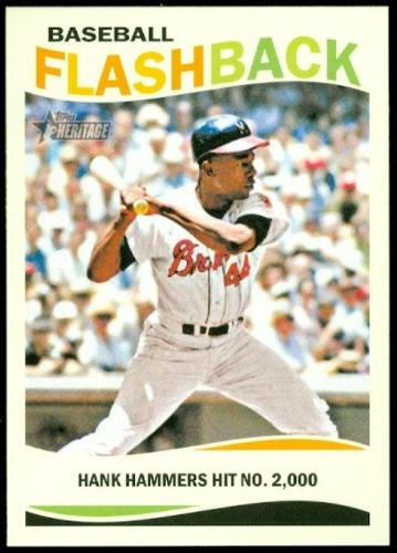 Photo of 2013 Topps Heritage Baseball Flashbacks #HA Hank Aaron