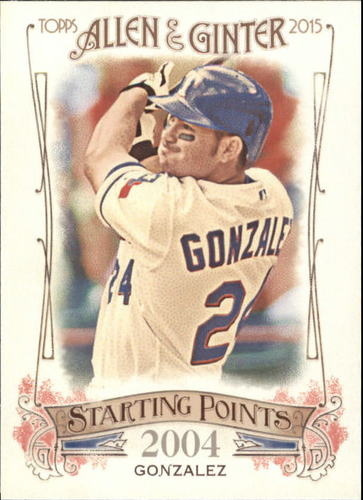 Photo of 2015 Topps Allen and Ginter Starting Points #SP38 Adrian Gonzalez