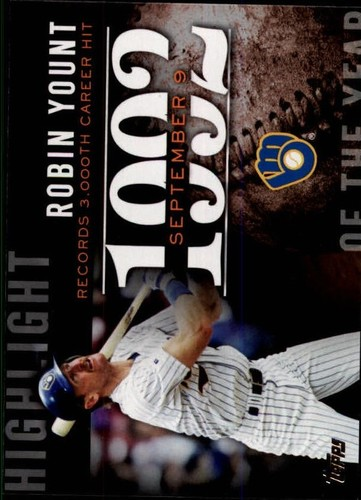 Photo of 2015 Topps Highlight of the Year #H81 Robin Yount UPD