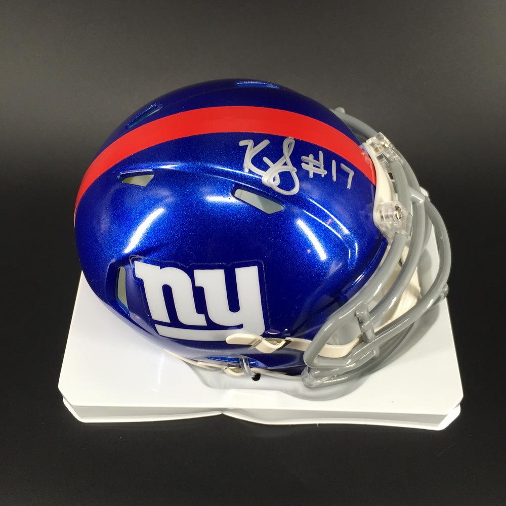 NFL - Giants Kyle Lauletta Signed Mini Helmet