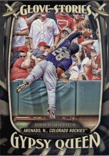 Photo of 2016 Topps Gypsy Queen Glove Stories #GS2 Nolan Arenado