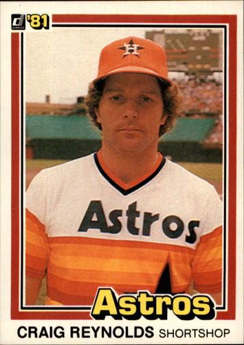 Photo of 1981 Donruss #378 Craig Reynolds