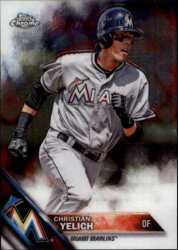Photo of 2016 Topps Chrome #187 Christian Yelich