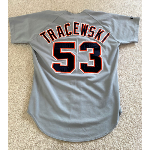 Photo of Dick Tracewski #53 Detroit Tigers Road Jersey (NOT MLB AUTHENTICATED)