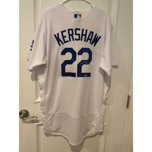 Clayton Kershaw Authentic Autographed Los Angeles Dodgers Jersey