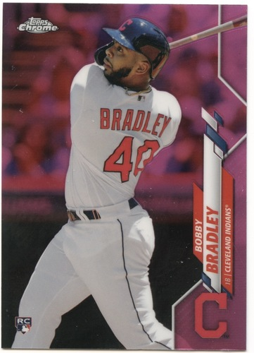 Photo of 2020 Topps Chrome Pink Refractors #3 Bobby Bradley