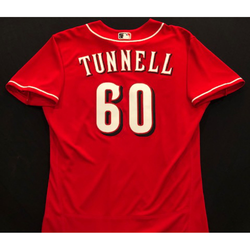 Photo of Lee Tunnell -- 2020 Spring Training Jersey -- Team-Issued -- Size 46