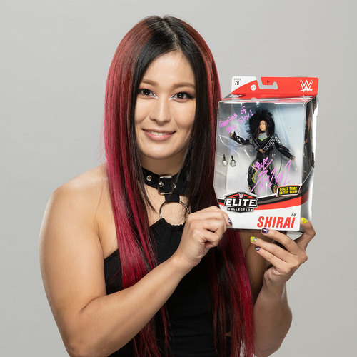 Io Shirai SIGNED Elite 79 Action Figure