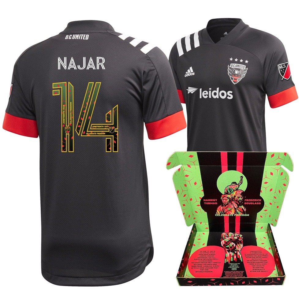 Andy Najar D.C. United Match-Used & Signed