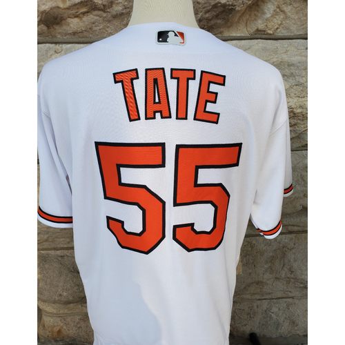 Photo of Dillon Tate: Jersey - Game Used (2021 Opening Day)