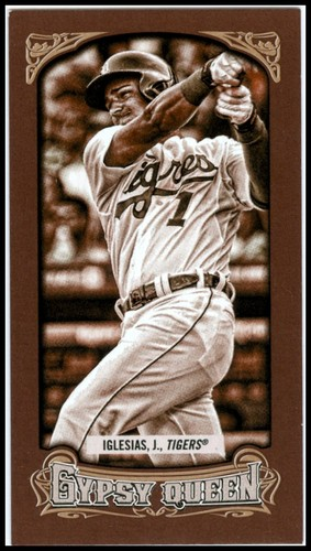 Photo of 2014 Topps Gypsy Queen Mini Sepia #131 Jose Iglesias