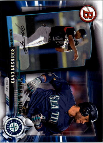 Photo of 2017 Topps Bowman Then and Now #BOWMAN17 Robinson Cano