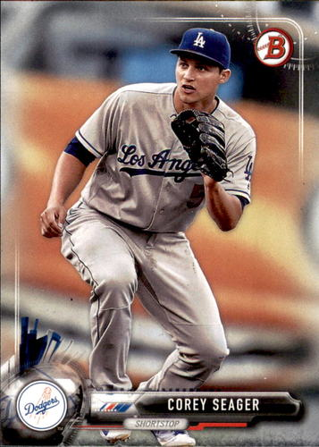 Photo of 2017 Bowman #50 Corey Seager