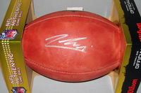 NFL - BUCCANEERS JEREMY MCNICHOLS SIGNED AUTHENTIC FOOTBALL