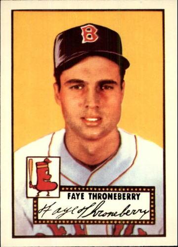 Photo of 1983 Topps 1952 Reprint #376 Faye Throneberry