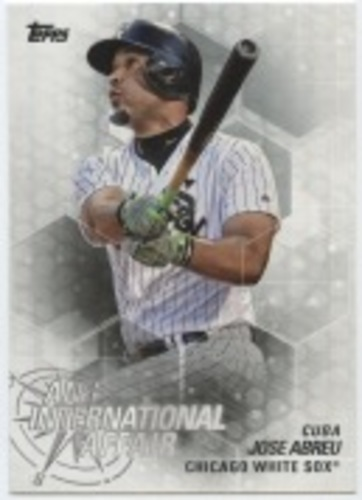Photo of 2018 Topps Update An International Affair #IA10 Jose Abreu