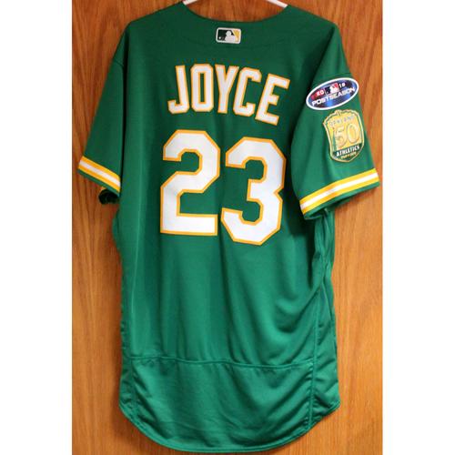 Team Issued Matt Joyce 2018 Jersey w/ Postseason Patch