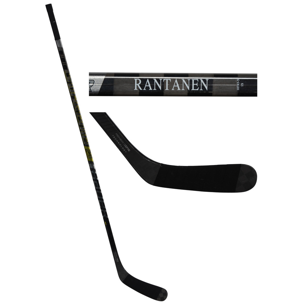 Mikko Rantanen Colorado Avalanche Game-Used Black Bauer Supreme Hockey Stick from the 2019 NHL All-Star Game