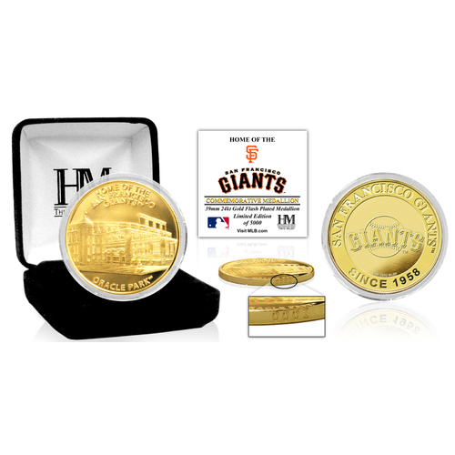 "Photo of San Francisco Giants ""Stadium"" Gold Mint Coin"