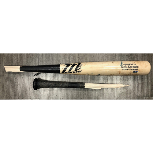 Photo of Game Used Broken Bat: Kevin Kiermaier - August 7, 2019 v TOR
