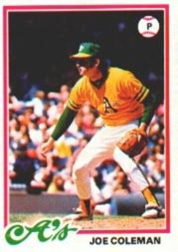 Photo of 1978 Topps #554 Joe Coleman
