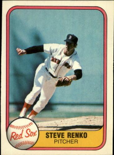 Photo of 1981 Fleer #231 Steve Renko