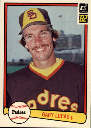 Photo of 1982 Donruss #296 Gary Lucas