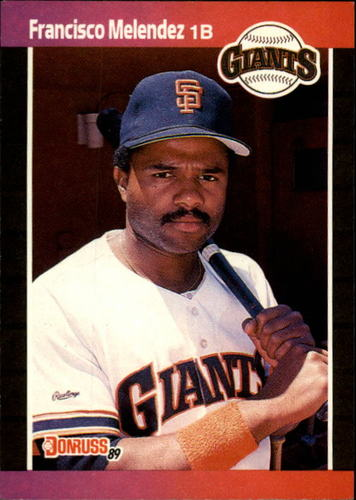 Photo of 1989 Donruss #611 Francisco Melendez