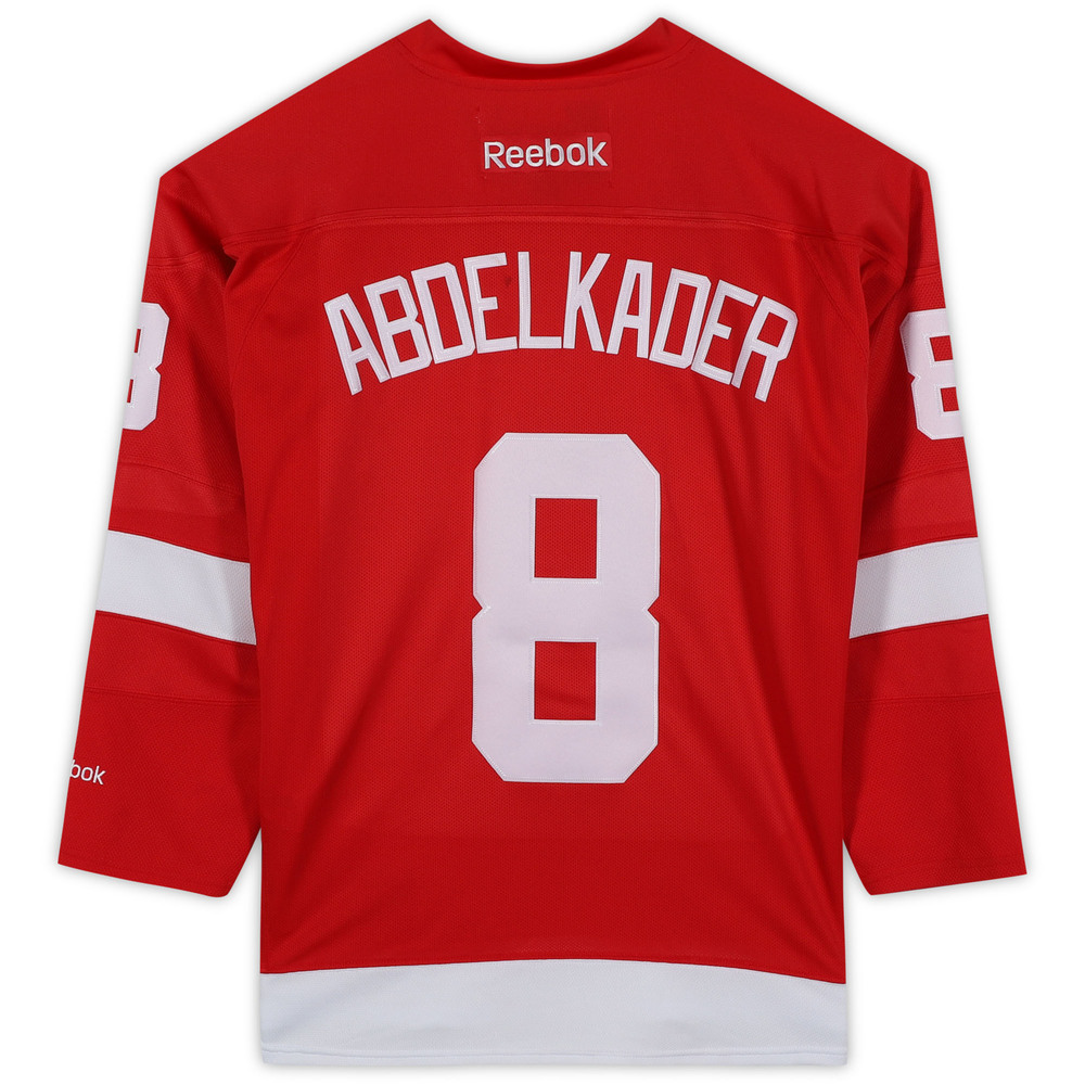 Justin Abdelkader Detroit Red Wings Unsigned Red Reebok Premier Jersey