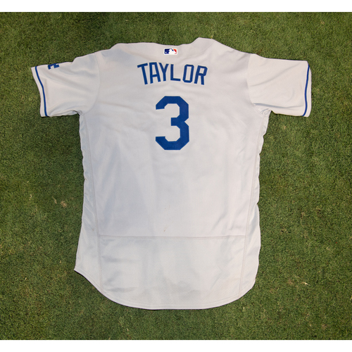 Photo of PRESALE - Chris Taylor Game-Used or Team-Issued Jersey from 8/14/20 Game vs. LAA