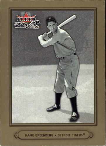 Photo of 2002 Fleer Fall Classics #79 Hank Greenberg