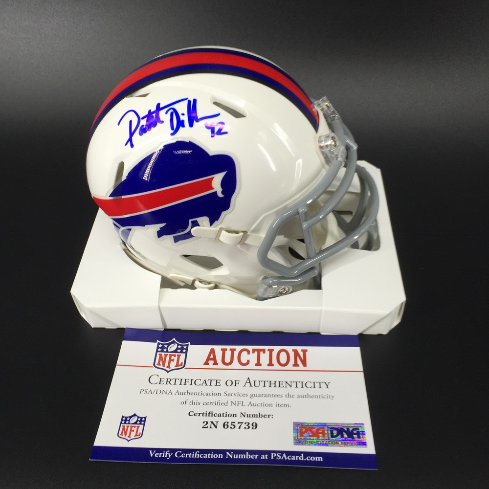 Bills - Patrick Dimarco Signed Mini Helmet