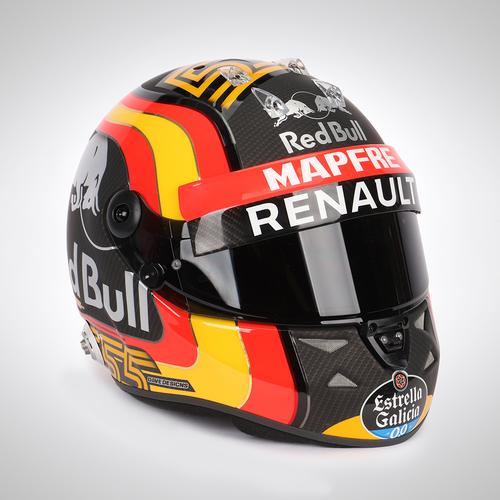 Photo of Carlos Sainz 2018 1:1 Official Replica Helmet