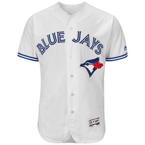 Toronto Blue Jays Men's Authentic Flex Base Home Jersey by Majestic