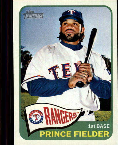 Photo of 2014 Topps Heritage #303 Prince Fielder