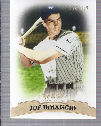 Photo of 2011 Topps Tier One #1 Joe DiMaggio