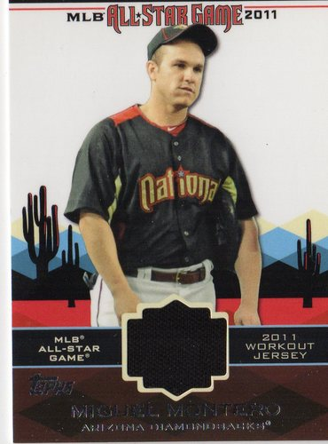 Photo of 2011 Topps Update All-Star Stitches #AS55 Miguel Montero