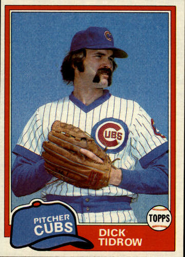 Photo of 1981 Topps #352 Dick Tidrow DP