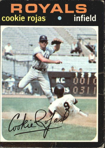 Photo of 1971 Topps #118 Cookie Rojas